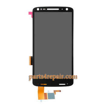 Complete Screen Assembly for Motorola Moto X Force XT1581 -Black