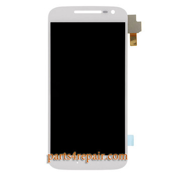 Complete Screen Assembly for Motorola Moto X Force XT1581 -White