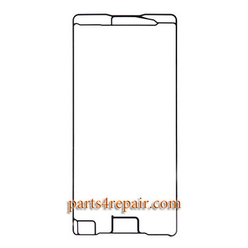 Front Housing Adhesive for Sony Xperia X Performance