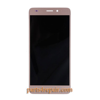 "Complete Screen Assembly with ""Honor"" for Huawei Honor 5C -Gold"