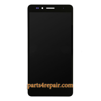 Complete Screen Assembly for Huawei Honor 5X (2GB RAM) -Black