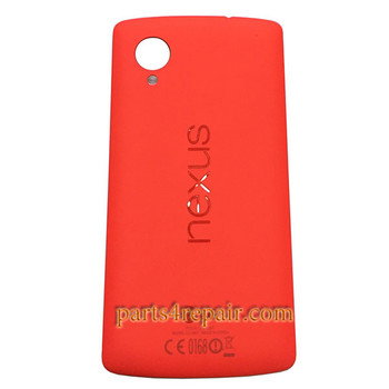 Back Cover with NFC for LG Nexus 5 D820 -Orange