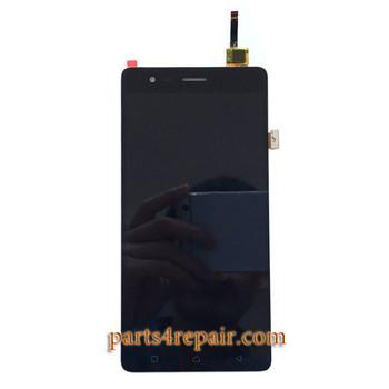 Complete Screen Assembly for Lenovo K5 Note -Black
