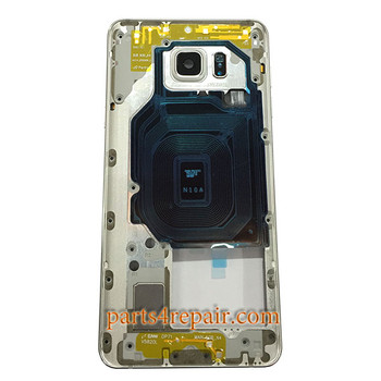Middle Housing Cover with Side Keys for Samsung Galaxy Note 5 N920A