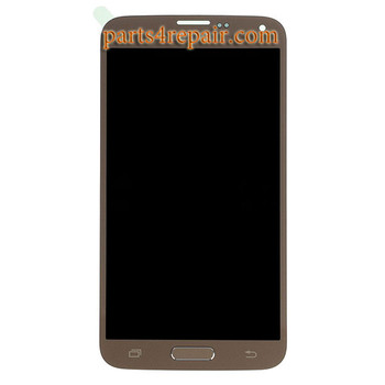 Complete Screen Assembly with Home Button for Samsung Galaxy S5 Neo All Versions -Gold