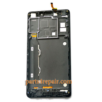 Complete Screen Assembly with Bezel for Lenovo K50-T5