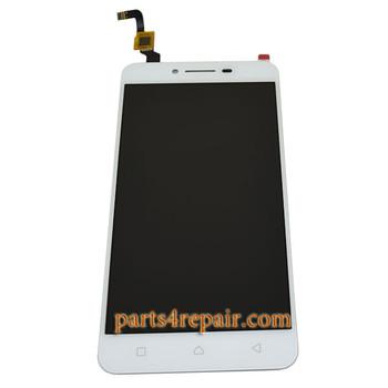 Complete Screen Assembly for Lenovo Vibe K5 Plus (Lemon 3) -White