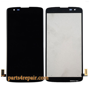 Complete Screen Assembly for LG K8 -Black