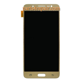 Complete Screen Assembly for Samsung Galaxy J5 (2016) All Versions -Gold