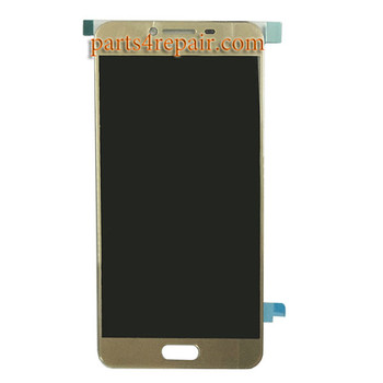 Complete Screen Assembly for Samsung Galaxy C5 -Gold