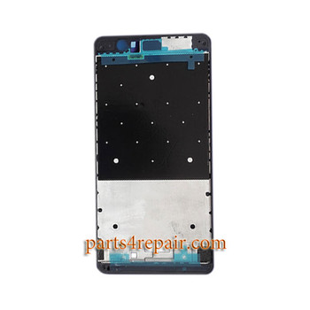 Front Housing Cover for Huawei Honor V8 -Black