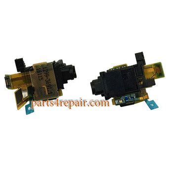 Earphone Jack Flex Cable for Sony Xperia X Performance