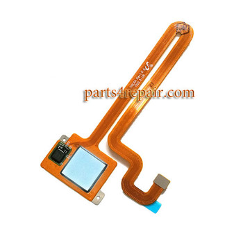 Fingerprint Sensor Flex Cable for Huawei Mate S -Silver