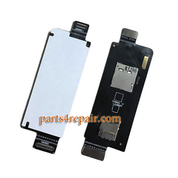 SIM Connector Flex Cable for Asus Zenfone Zoom ZX551ML