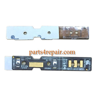 Volume Flex Cable for Asus Zenfone Selfie ZD551KL from www.parts4repair.com