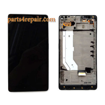 Complete Screen Assembly with Bezel for Microsoft Lumia 950 XL