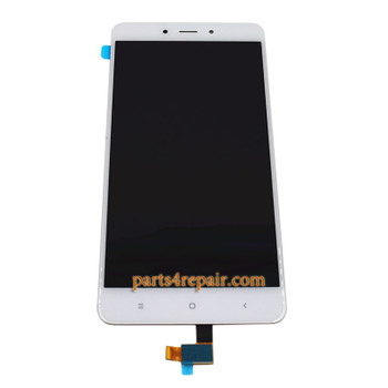 Complete Screen Assembly for Xiaomi Redmi Note 4 MTK/ 4X 4GB MTK  -White