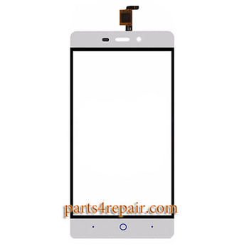 Touch Screen Digitizer for ZTE Blade X3 -White