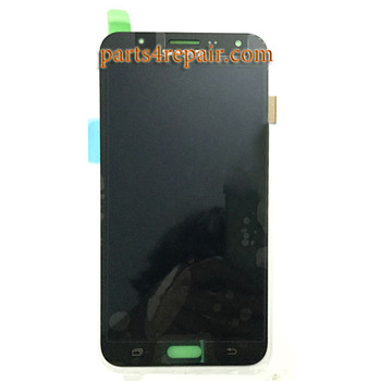 Complete Screen Assembly for Samsung Galaxy J7 (2016) All Series -Black