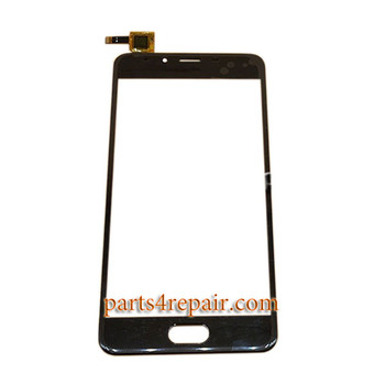 Touch Screen Digitizer for Meizu U10 -Black