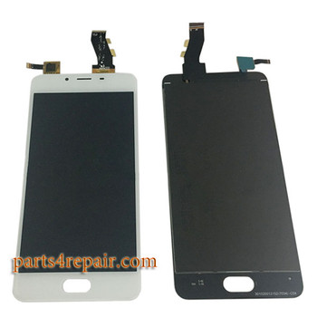 Complete Screen Assembly for Meizu U10 -White
