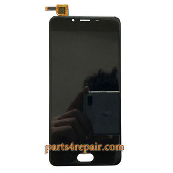 Complete Screen Assembly for Meizu U10 -Black