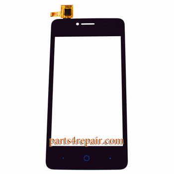 Touch Screen Digitizer for ZTE Blade AF3 T221 -Black