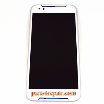 Complete Screen Assembly with Bezel for HTC Desire 830 from www.parts4repair.com