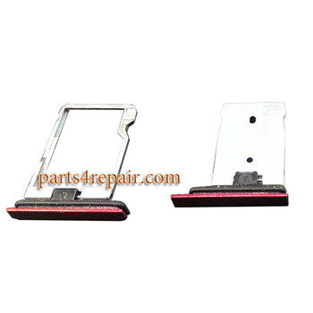 SIM Tray & Microsd Card Tray for HTC Butterfly 3 -Red
