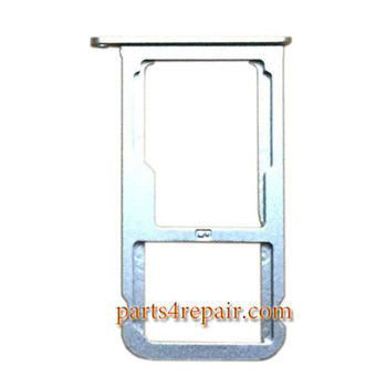 SIM Tray for Huawei P9 Lite -Silver