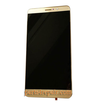 Complete Screen Assembly with Bezel for Huawei Mate 9 -Gold