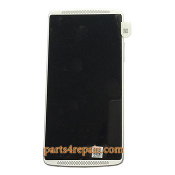 Complete Screen Assembly with Bezel for Lenovo Vibe X3 from www.parts4repair.com