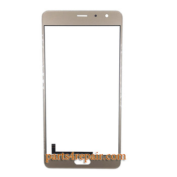 Front Glass OEM with Touch Sensor Flex Cable for Xiaomi Redmi Pro -Gold