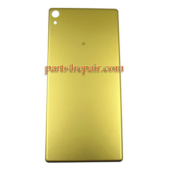 Back Cover for Sony Xpeira XA Ultra (C6 Ultra) -Lime Gold