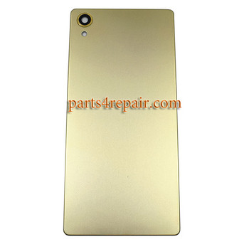 Back Cover for Sony Xperia X -Lime Gold