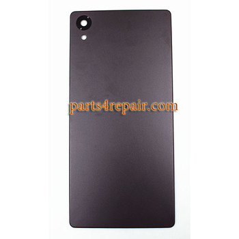Back Cover for Sony Xperia X -Graphite Black