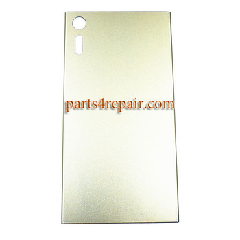Back Cover OEM for Sony Xperia XZ -Gold