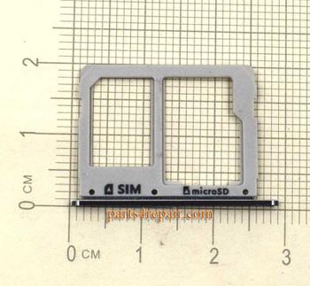 Single SIM Tray for Samsung Galaxy A3100 A5100 A7100 -Black
