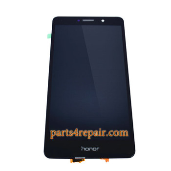 Complete Screen Assembly for Huawei Honor 6x (2016) -Black