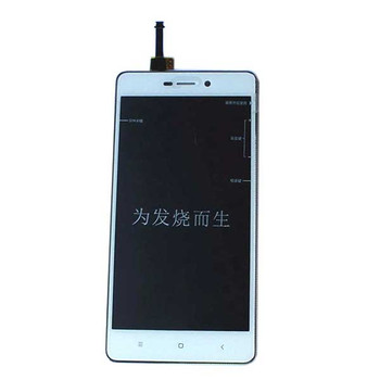 Complete Screen Assembly with Bezel for Xiaomi Redmi 3 3S 3X -White