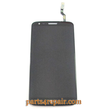 Complete Screen Assembly for LG G2 D801 from www.parts4repair.com