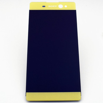 Complete Screen Assembly for Sony Xperia XA Ultra F3211 F3212 F3213 F3215 F3216 -Lime Gold