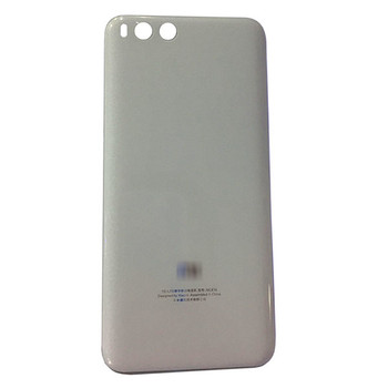 Back Glass Cover for Xiaomi Mi 6 - White