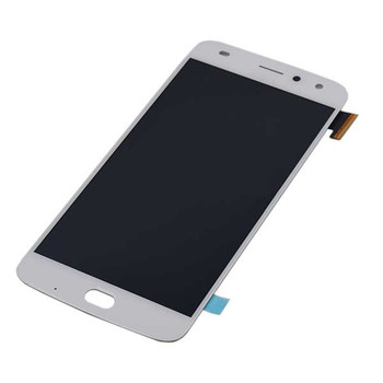 Complete Screen Assembly for Motorola Moto Z2 Play -White