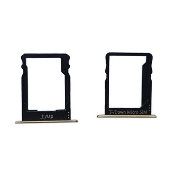 A Set of SIM Tray for Huawei P8lite -Gold