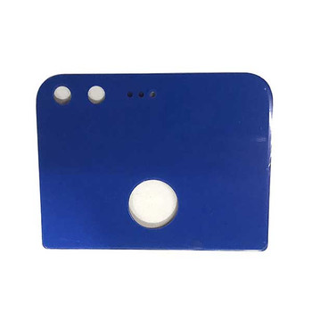 Camera Glass Cover OEM with Adhesive for Google Pixel -Blue