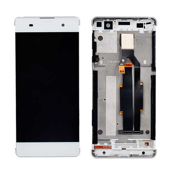 Complete Screen Assembly with Bezel & Tools for Sony Xperia XA from www.parts4repair.com