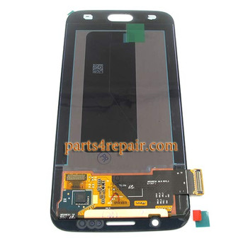 Complete Screen Assembly for Samsung Galaxy S6 All Versions (Refurbished) -Black