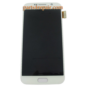 Complete Screen Assembly for Samsung Galaxy S6 -White from www.parts4repair.com