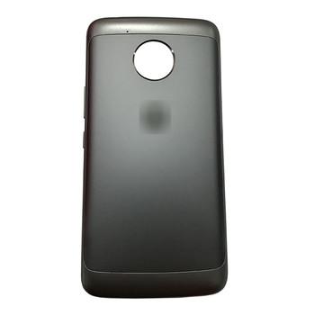 Back Cover with Side Keys for Motorola Moto E4 Plus (USA)-Black